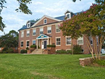 Beaven Hall, a CBL administration building.