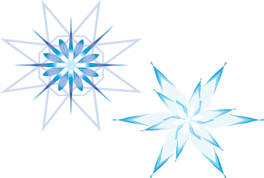 Symbol indicating tolerance to cold and freezing.