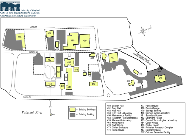 CBL campus map
