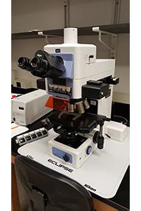 Nikon Eclipes E800 Fluorescent Microscope