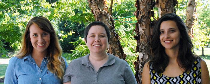 HPL Knauss Fellowship Awardees, Melanie Jackson, Maureen Brooks, and Emily Russ