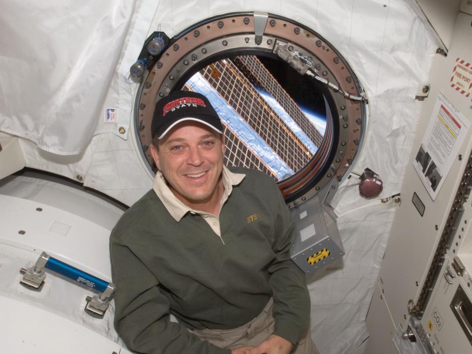 UMCES, FSU alum Ricky Arnold in space