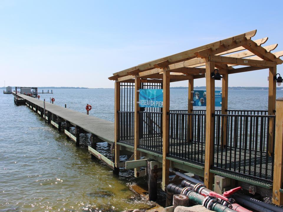 CBL research pier