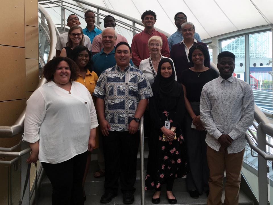 The 2019 student cohort of the IMET summer internship program