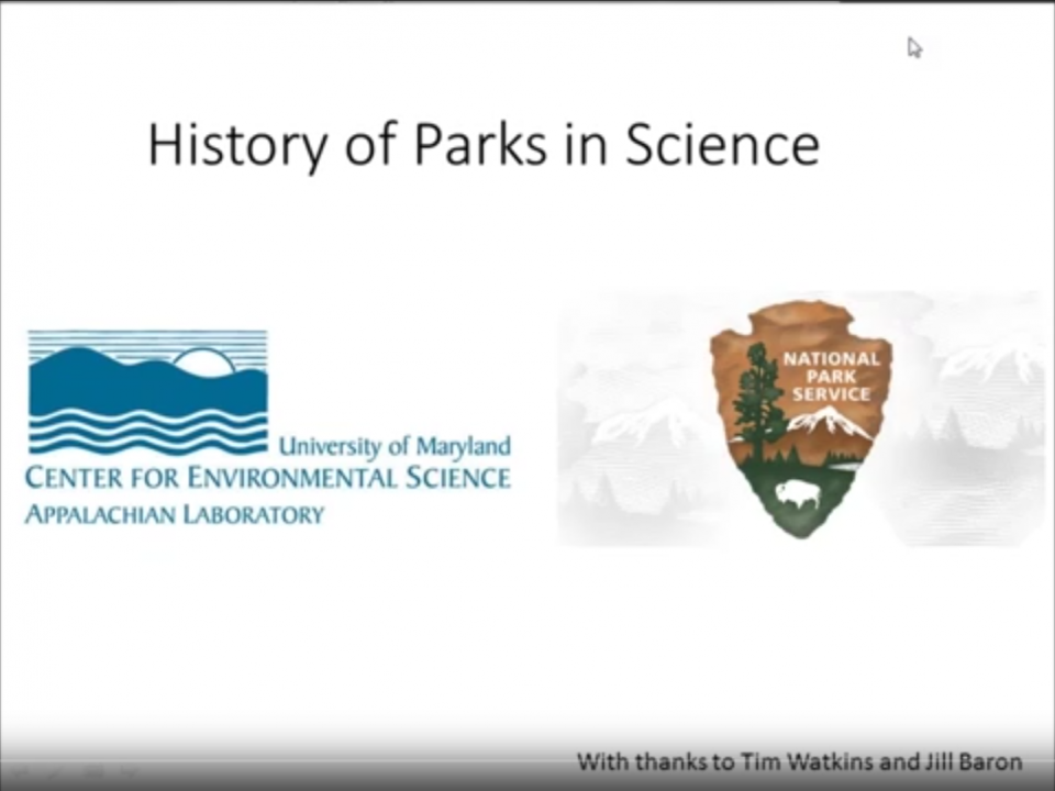 HIstory of Parks in Science Image