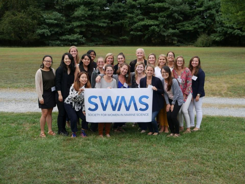 Group photo of the SWMS Horn Point Chapter