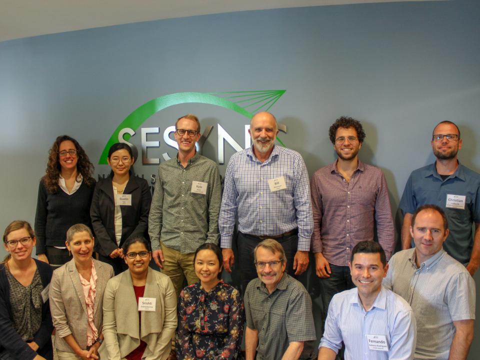 June 2019 SAM Workshop participants at SESYNC.