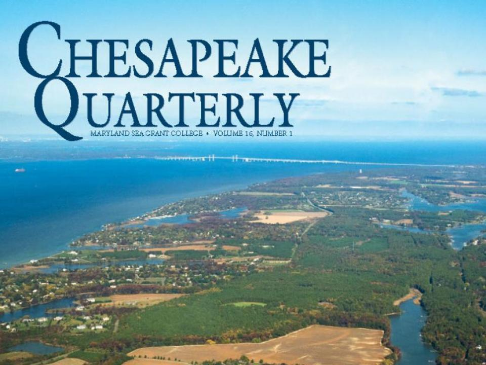 Chesapeake Quarterly, Volume 16, Number 1