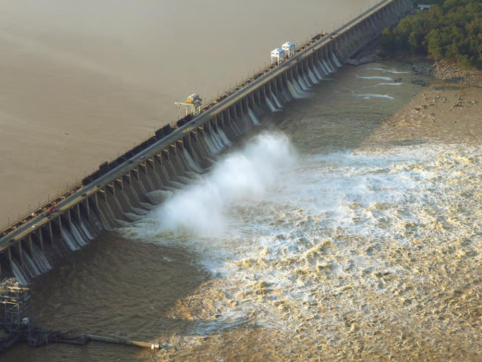 Conowingo Dam on Susquehanna River