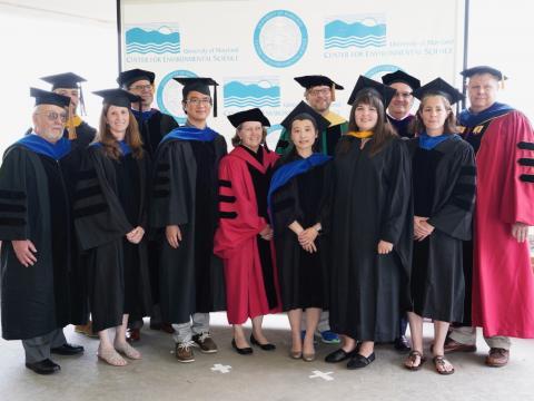 UMCES 2018 graduates