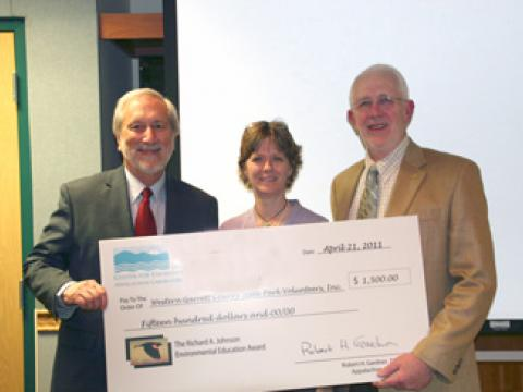 Dr. Donald Boesch, CarolineBlizzard, Dr. Bob Gardner