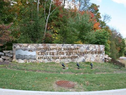 Picture of Appalachian Laboratory sign