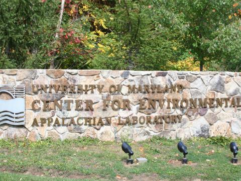 AL Sign at Entry