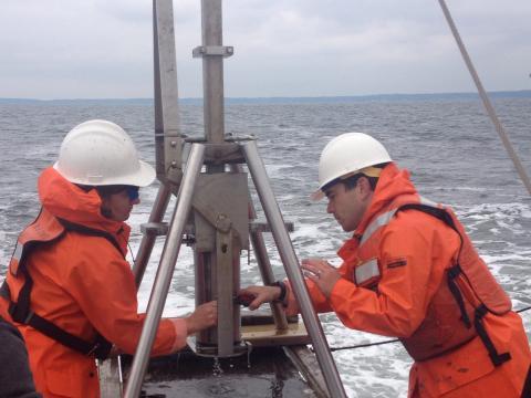 Jeremy Testa studies oceanification.