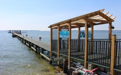 CBL research pier