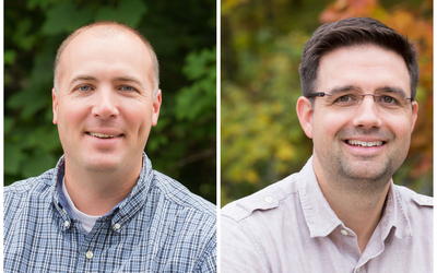 Headshots of Dr. Dave Nelson and Dr. Matt Fitzpatrick