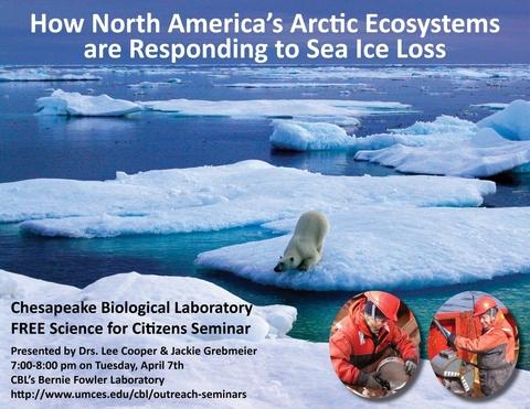 Poster promoting Arctic seminar 2015