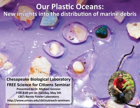 Poster promoting Plastics seminar