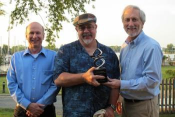 Dr. Allen Place, a professor and biochemist with the Institute of Marine and Environmental Technology, has been honored by the University of Maryland Center for Environmental Science with the President's Award for Science Application.