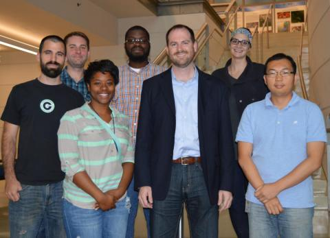 REEF featured a veritable who's who of experts from Baltimore's innovative science and technology community including Jason Brooke (center).