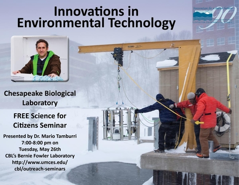 Poster promoting Innovations in Environmental Tech