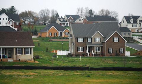 A housing development