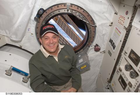 Ricky Arnold on Space Station