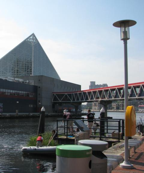 National Aquarium with natural habitat