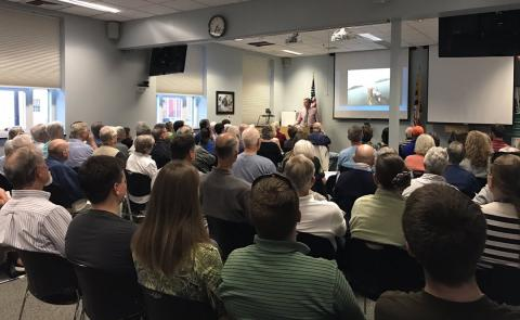 Dr. Dave Secor presents a Science for Citizens seminar