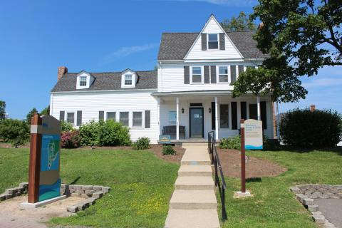 The Chesapeake Biological Laboratory Visitor Center on Solomons Island
