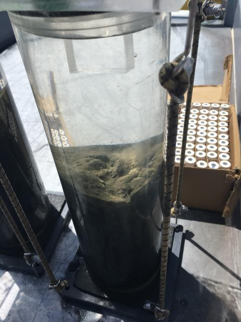 Ocean acidification water sample