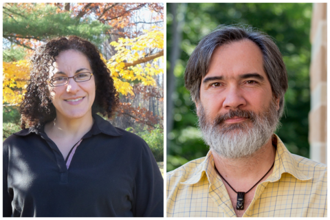 Headshots of Deborah Landau and Mark Cochrane