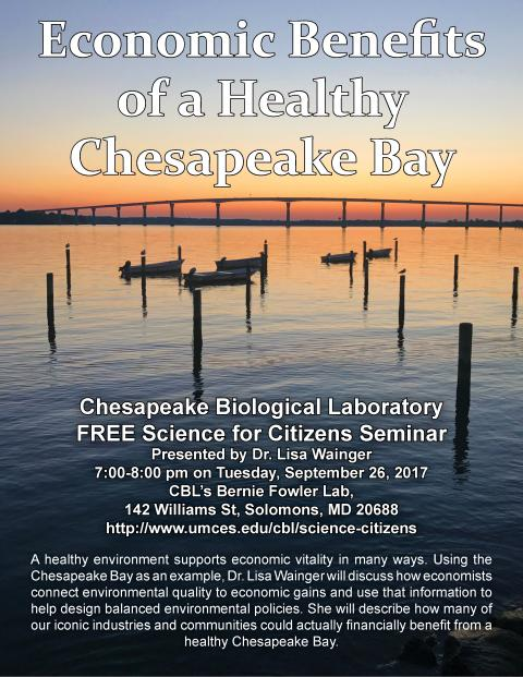 Economic Benefits of a Healthy Chesapeake Bay