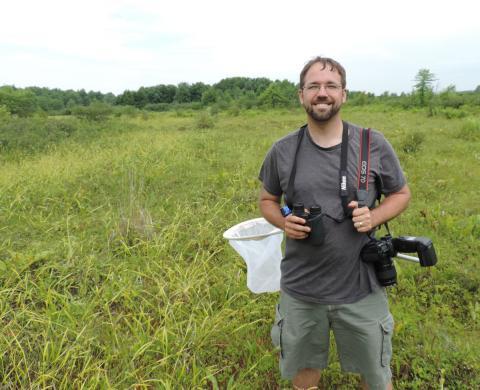 Bill Hubick in field