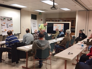Keith Eshleman leads Lab After Hours Watershed Moments event.