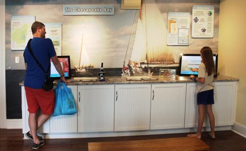 CBL Visitor Center Exhibit
