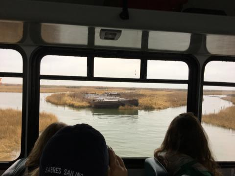 tour at Poplar Island