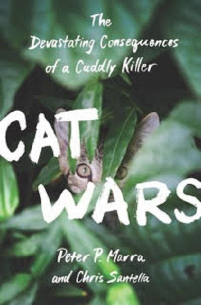 Cover of Cat Wars showing cat hidden in plants