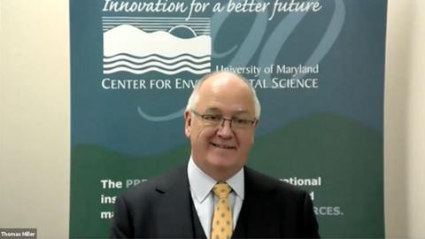 Dr. Tom Miller presents a webinar