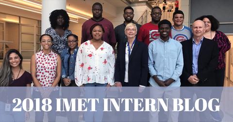 Link to the 2018 IMET Intern Blog