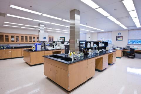 Photo of the Water Chemistry Laboratory