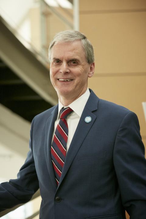 UMCES President Peter Goodwin