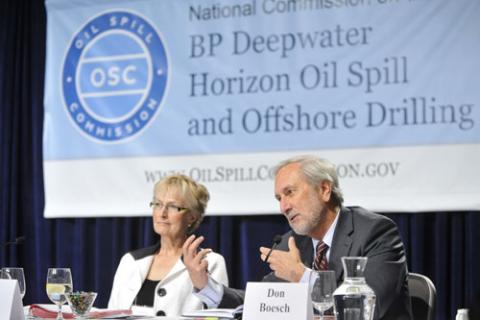 Don Boesch addresses the Deepwater Horizon disaster.