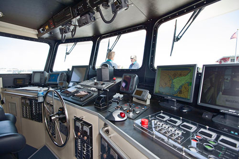The Bridge on the R/V Carson