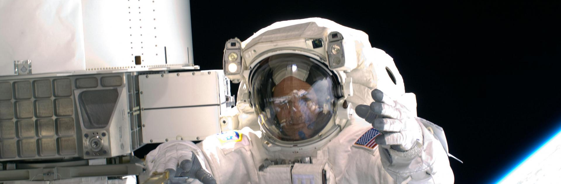 ricky arnold in space